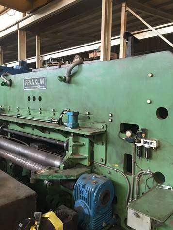 Franklin PF 196 x 72 CNC Plasma/Punch Fabricator-26284a