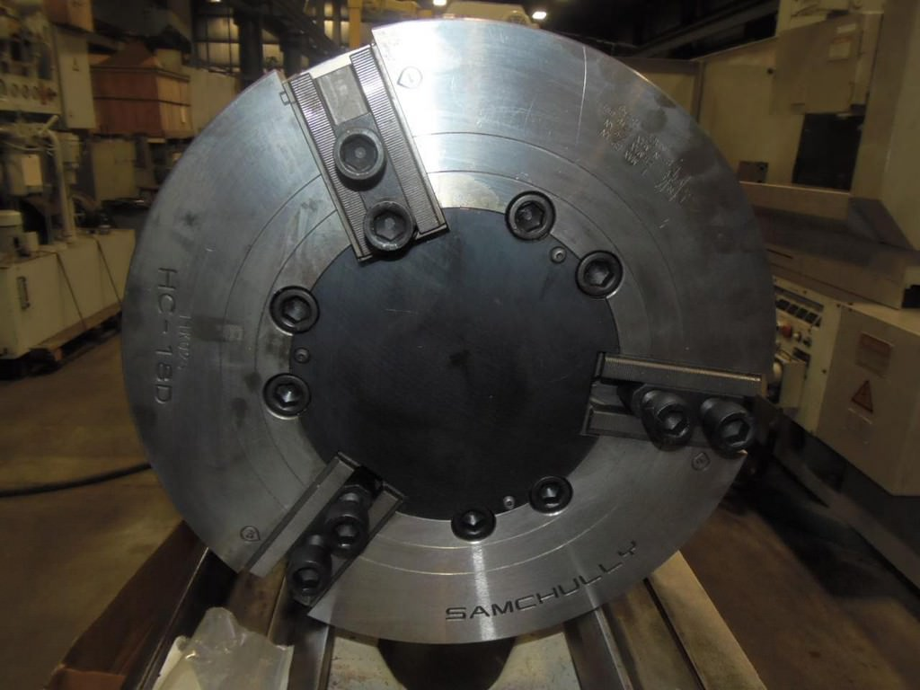 Samchully-18-3-Jaw-Hydraulic-Chuck