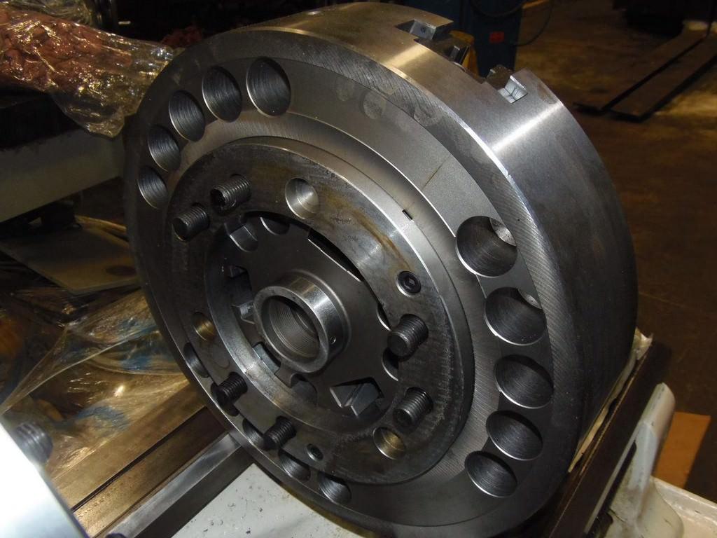 Samchully 457 MM  3-Jaw Hydraulic Chuck-26341a