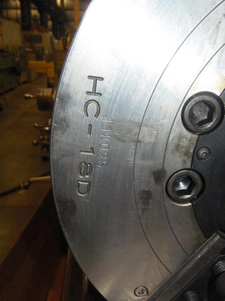 Samchully 457 MM  3-Jaw Hydraulic Chuck-26341b
