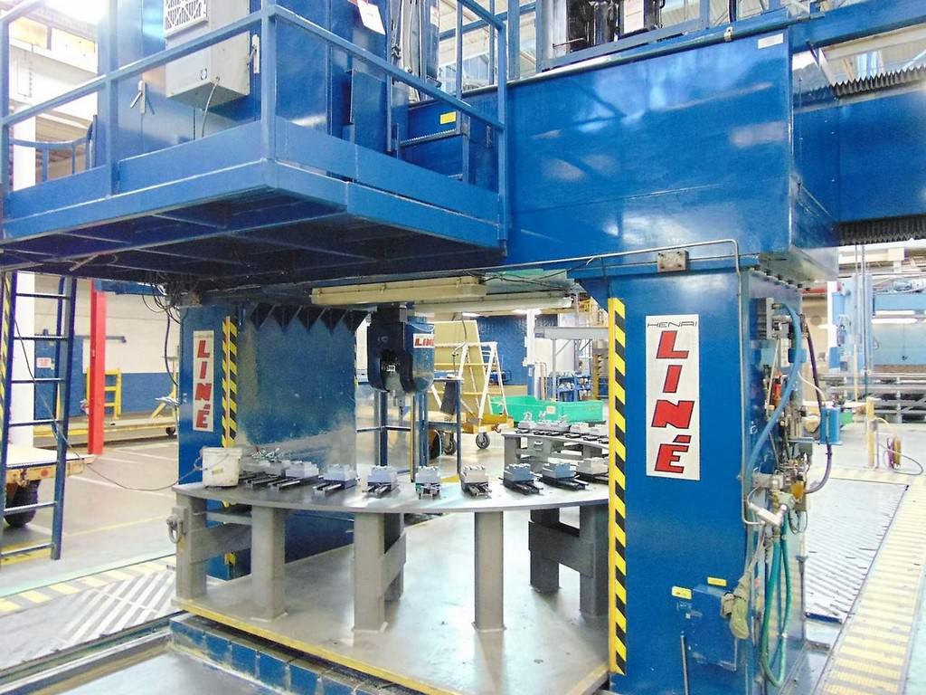 HENRI LINE GICAMILL 29 HS/5 5-Axis CNC Travelling Gantry Mill-26542c