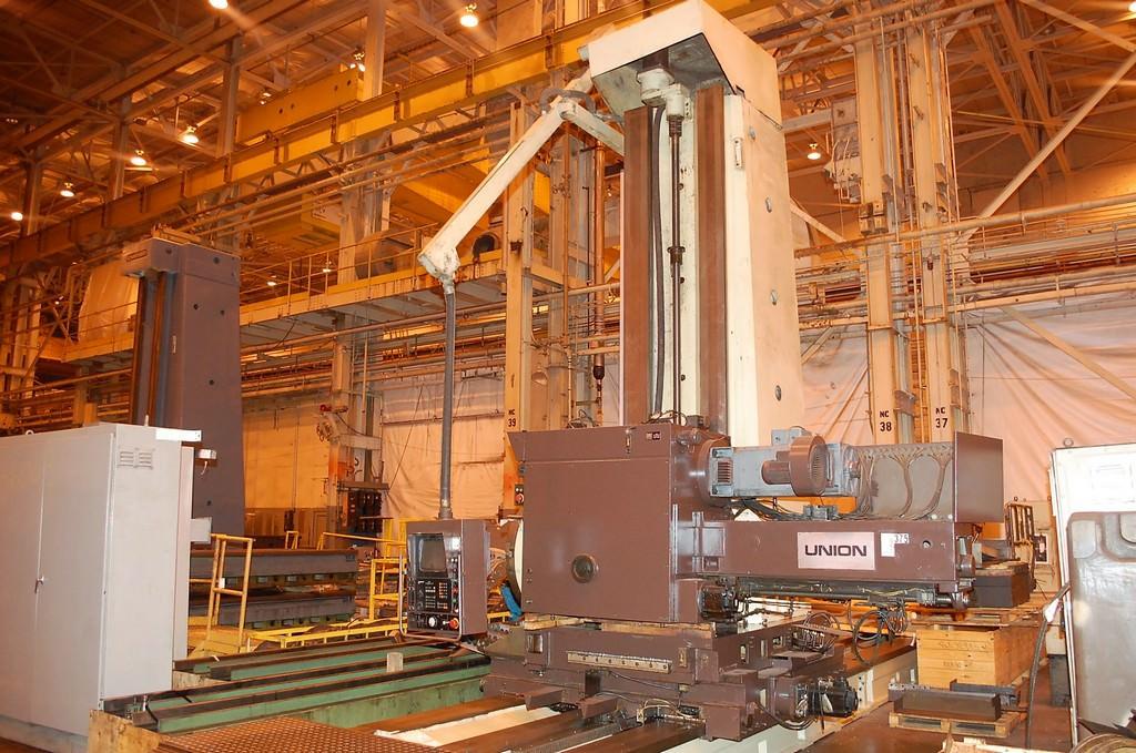 Union-BFP130-5.12-CNC-Floor-Type-Horizontal-Boring-Mill