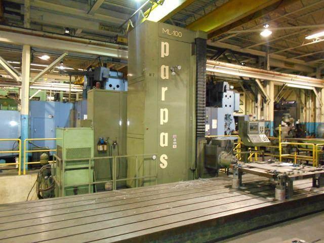 Parpas-ML-100-CNC-Floor-Type-Horizontal-Boring-&-Milling-Machine
