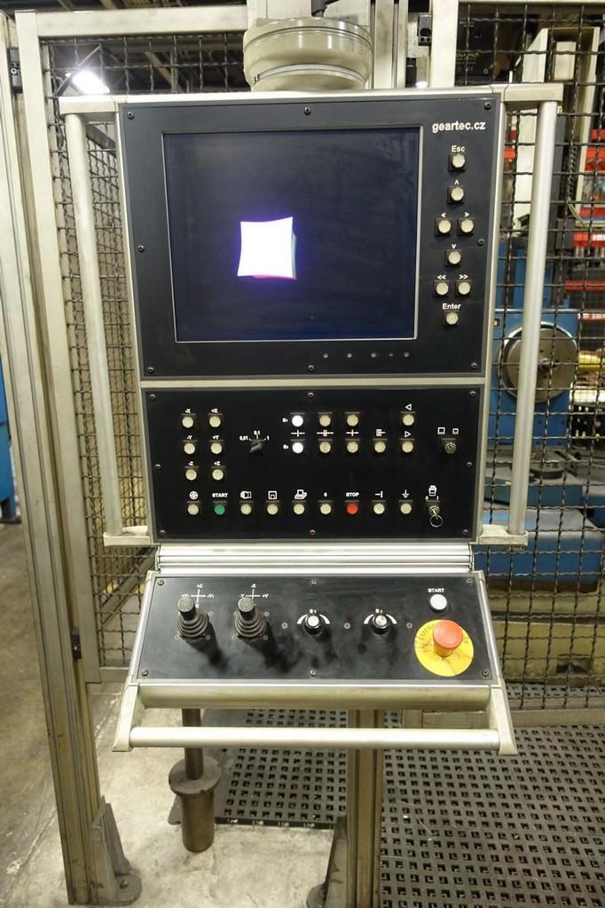 WELTER Model UHT-800 CNC Universal Bevel Gear Checker-26863e
