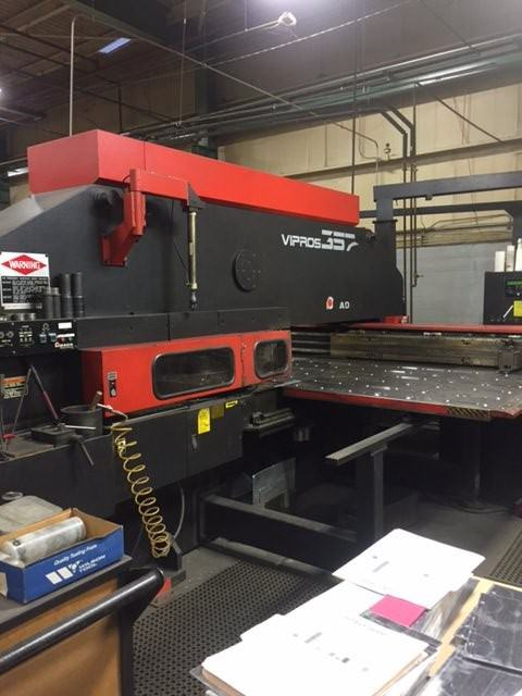 Amada-Vipros-357-33-Ton-CNC-Turret-Punch-Press