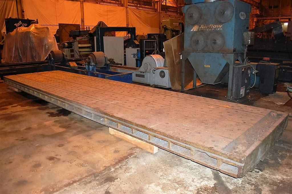 T-Slotted-Floor-Plates-Planer-Tables-72-x-276-(2)-Cast-Iron