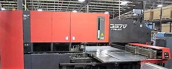 Amada-357V-Apelio-II-33-Ton-CNC-Punch-With-1.5-KW-Laser