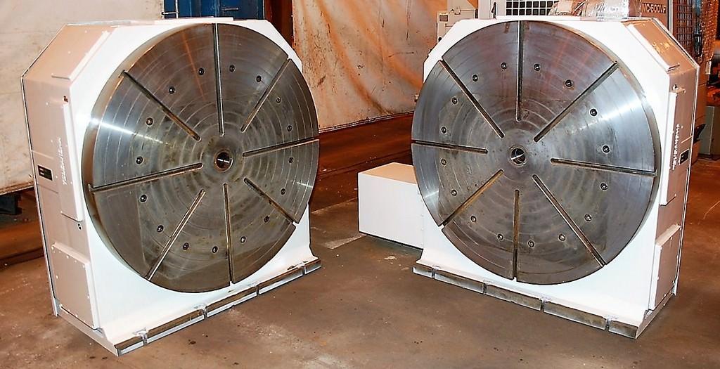 49-TSUDAKOMA-RTV-901.AA-4th-Axis-Headstock-Tailstock-CNC-Rotary-Tables