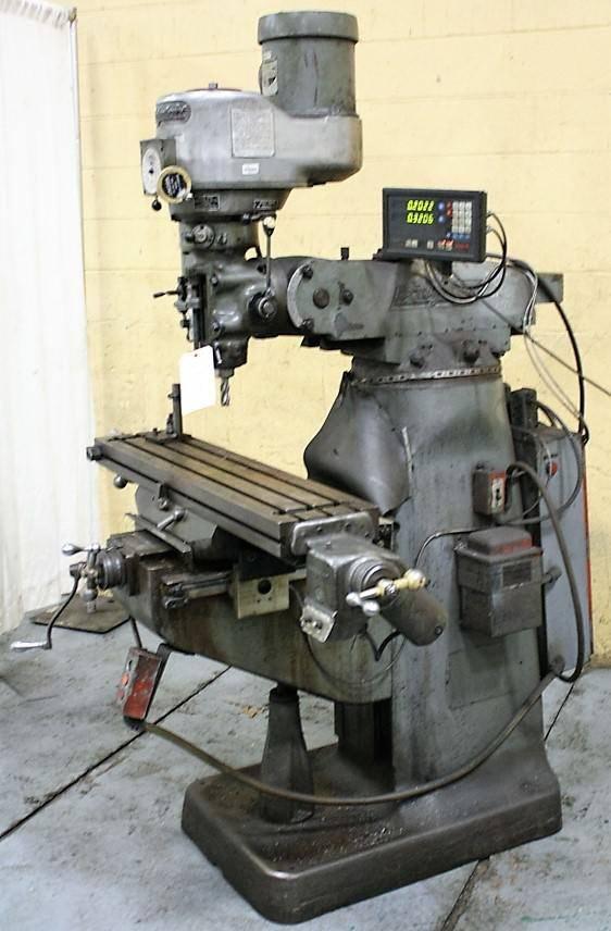 Bridgeport Series I Ram-Type Vertical Milling Machine ...