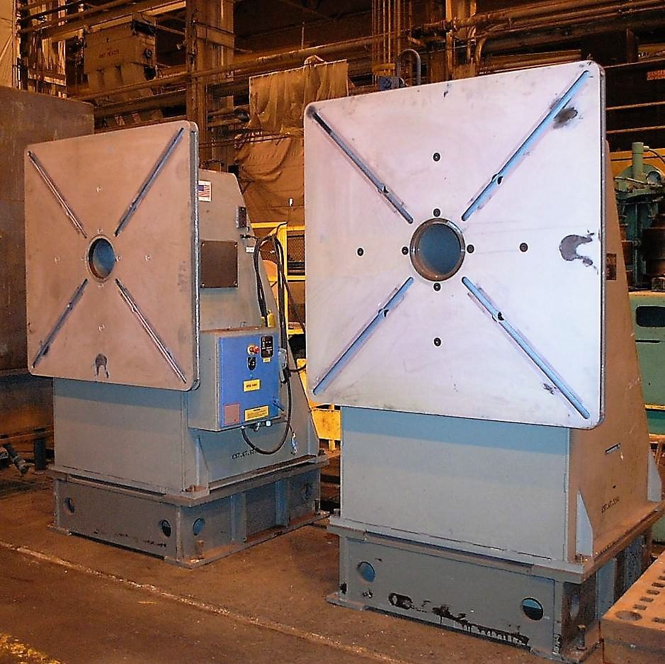 Koike-HS16VF-TS16-Fixed-Base-Head-&-Tailstock-32000-lb.-Welding-Positioner