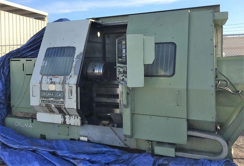OKUMA-LC-40-4-Axis-CNC-Turning-Center