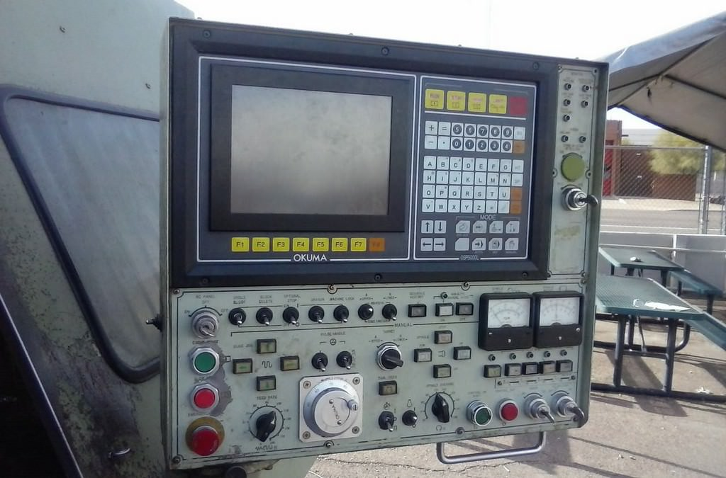 OKUMA LC-40 4-Axis CNC Turning Center-27461a