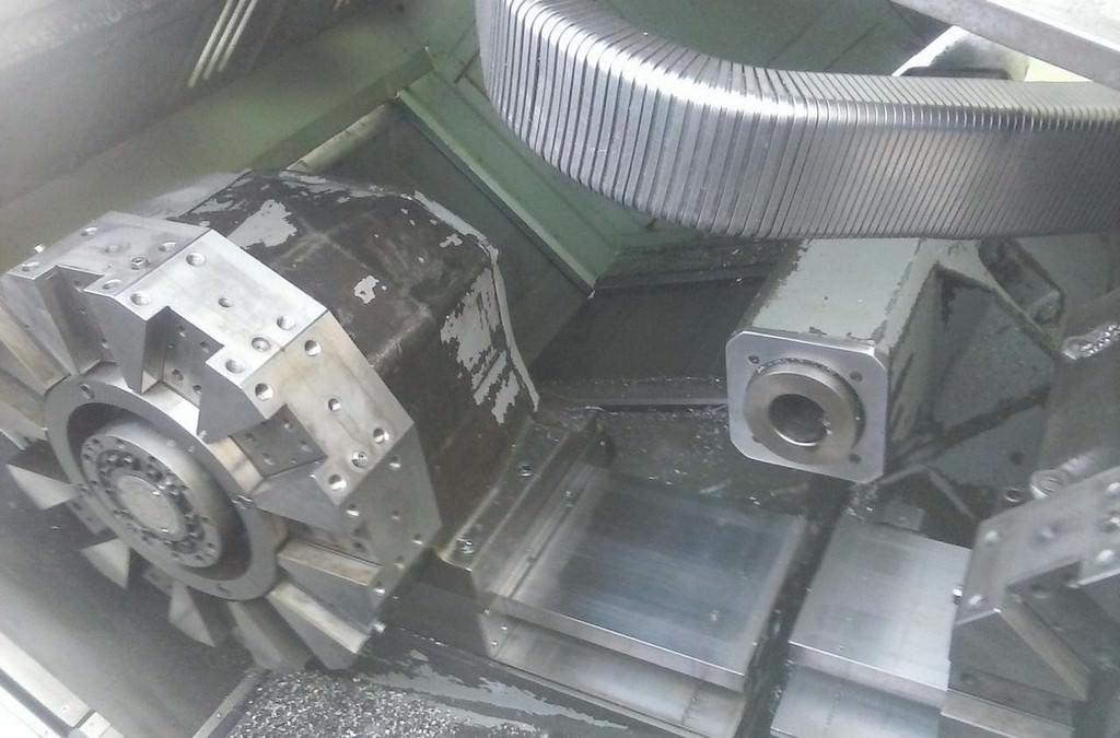 OKUMA LC-40 4-Axis CNC Turning Center-27461b