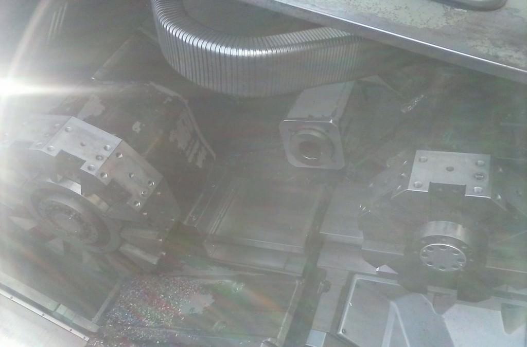 OKUMA LC-40 4-Axis CNC Turning Center-27461c