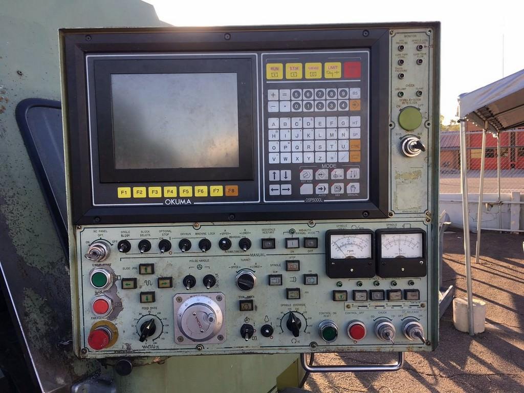 OKUMA LC-40 4-Axis CNC Turning Center-27461e