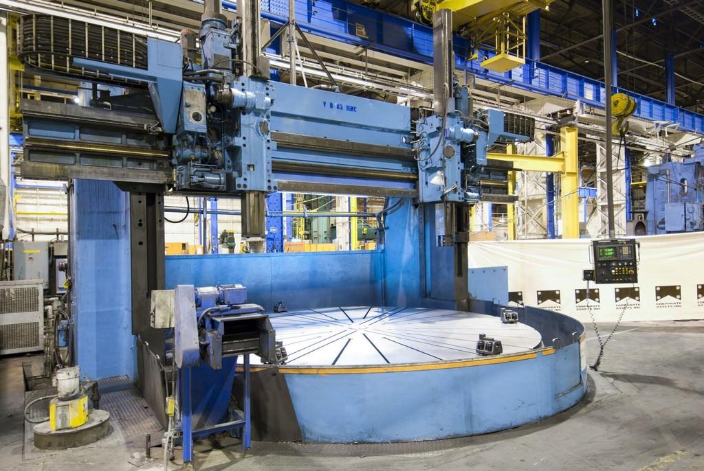 Farrel-Fixed-Rail-4-Axis-192-CNC-Vertical-Boring-Mill