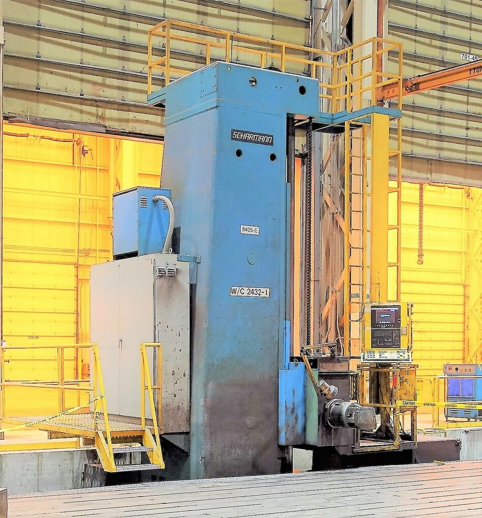 Scharmann-Heavycut-2-WFT-150-5.9-Travelling-Column-Horiz.-Boring-Mill