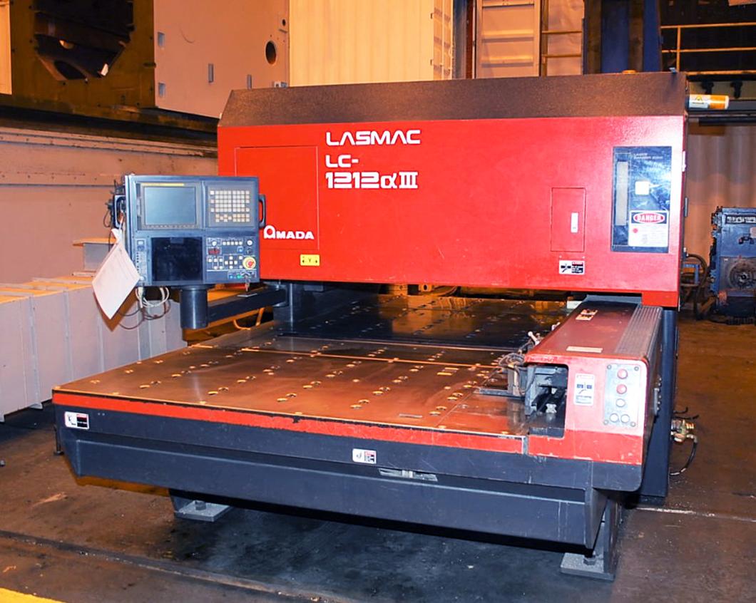 Amada-Pulsar-LC1212A3-2000-Watt-Hybrid-CNC-Laser-Cutting-System