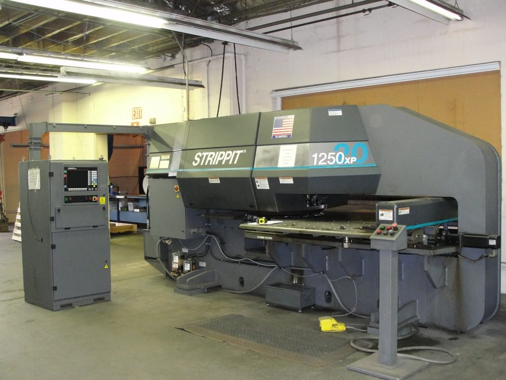 Strippit-FC-1250XP-20-23-Ton-CNC-Turret-Punch-Press