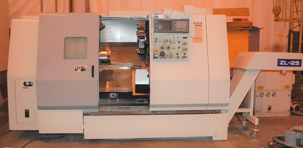 Mori Seiki ZL-25 CNC Slant Bed Turning Center - Lathes CNC