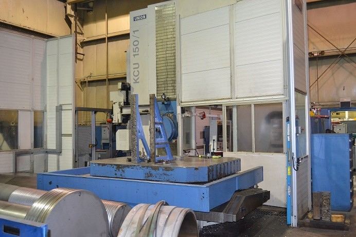 UNION-KCU-150-5.9-CNC-Table-Type-Horizontal-Boring-Mill