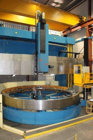CKX-248-CNC-Vertical-Boring-Mill-with-Live-Spindle