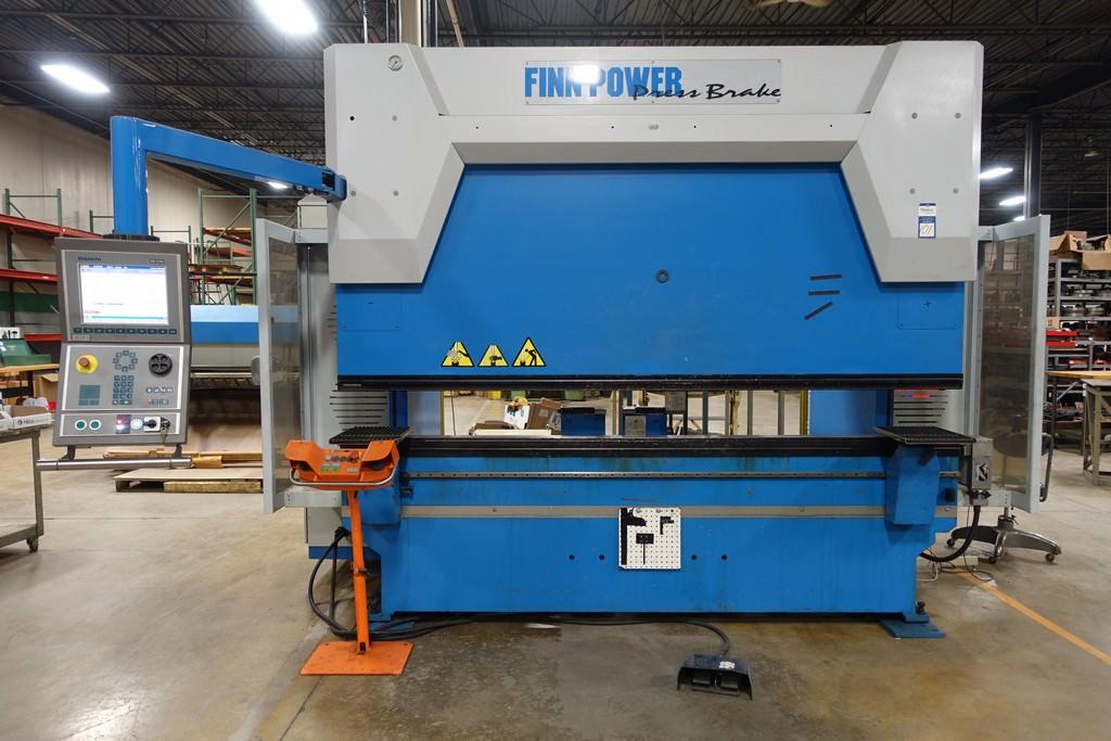 Finn Power B125-3060-GE UH6 138 Ton 8-Axis CNC Press Brake