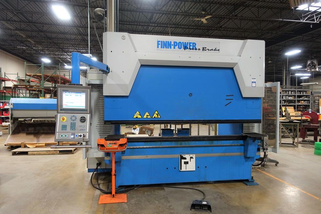 Finn Power B125-3060-GE UH6 138 Ton 8-Axis CNC Press Brake-28456a