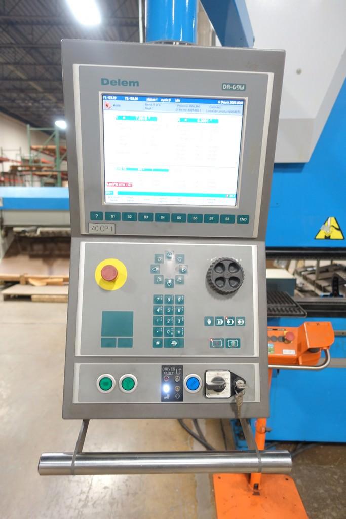Finn Power B125-3060-GE UH6 138 Ton 8-Axis CNC Press Brake-28456b