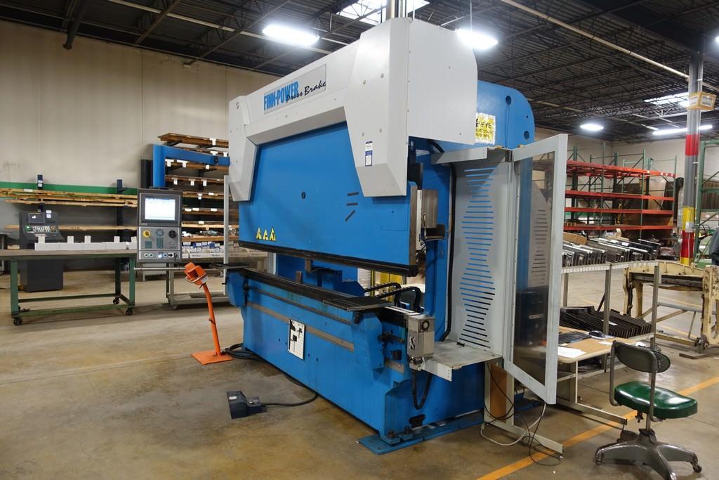 Finn Power B125-3060-GE UH6 138 Ton 8-Axis CNC Press Brake-28456d