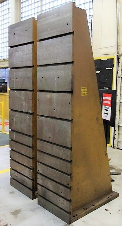 Angle Plates, T-Slotted (2) 2438 MM  x 610 MM  x 1016 MM   -28480a