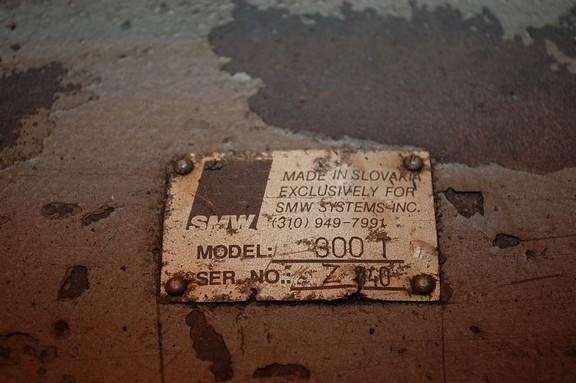 SMW 300T Pallet Changer-28585j