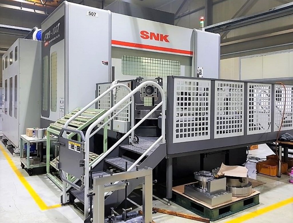 SNK-CMV-100T-5-Axis-CNC-Horizontal-Machining-Center