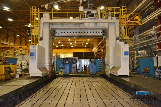 Ingersoll Traveling Gantry Type Adjustable Rail Milling Machine-28624a