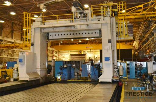 Ingersoll Traveling Gantry Type Adjustable Rail Milling Machine-28624b