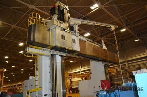 Ingersoll Traveling Gantry Type Adjustable Rail Milling Machine-28624e