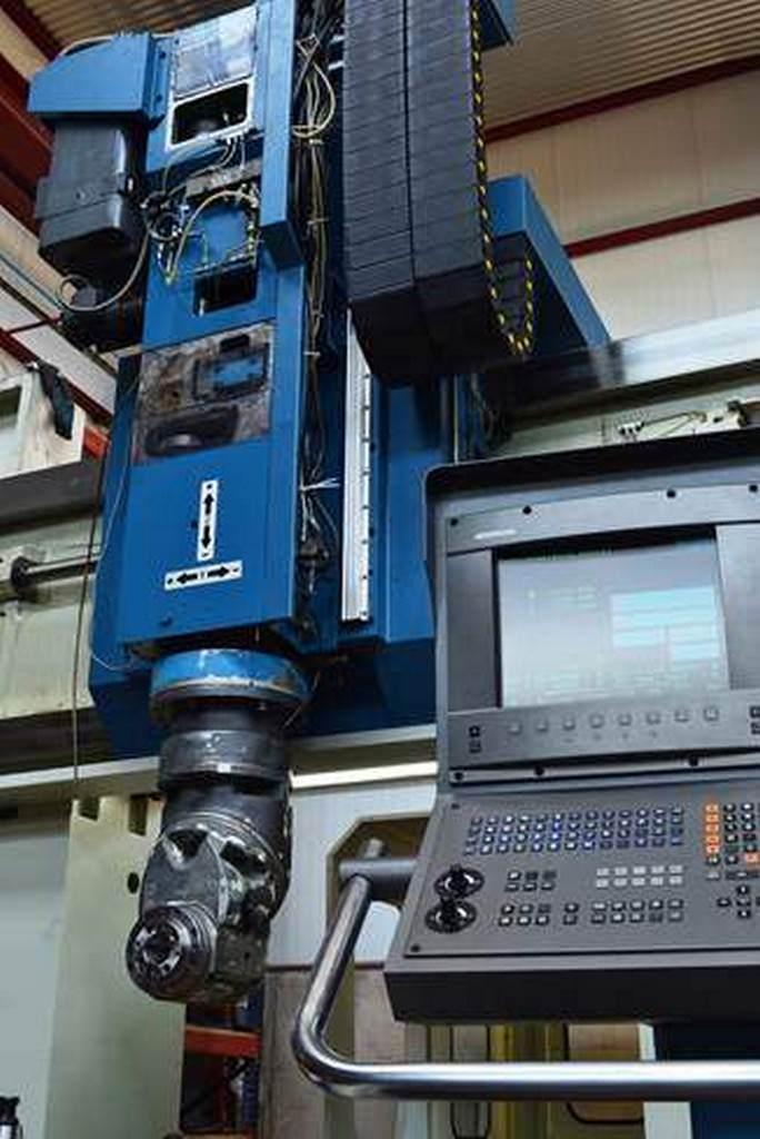 Nicolas Correa FP-30/40 CNC Bridge Gantry Mill-28660c