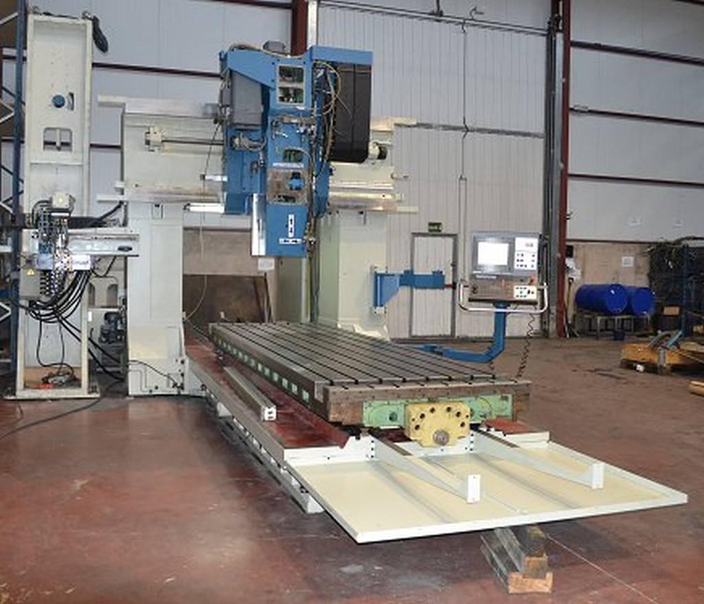 Nicolas Correa FP-30/40 CNC Bridge Gantry Mill-28660e