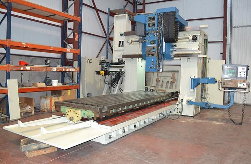 Nicolas Correa FP-30/40 CNC Bridge Gantry Mill-28660f