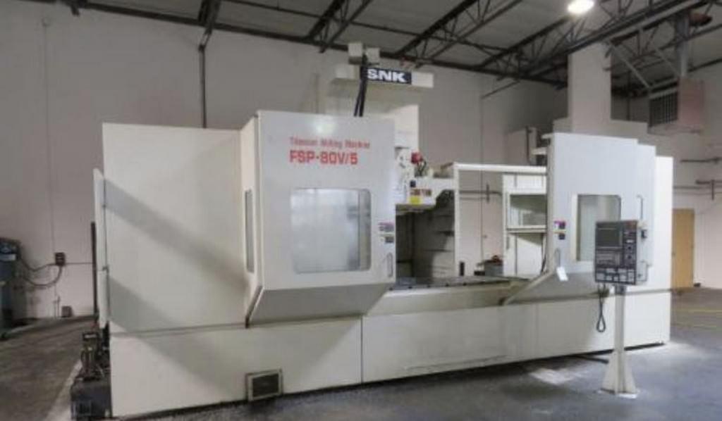 SNK-FSP-80V-5-Axis-CNC-Vertical-Machining-Center