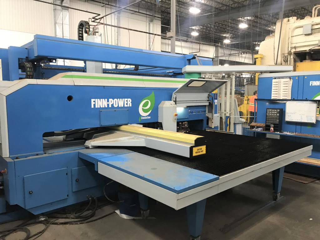 Finn-Power-E5-x-12.2-23-Ton-CNC-Turret-Punch-Press