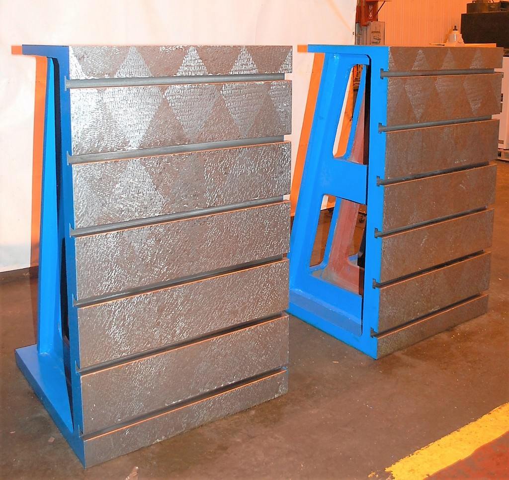 Angle-Plates-T-Slotted-(2)-59-x-36-x-36