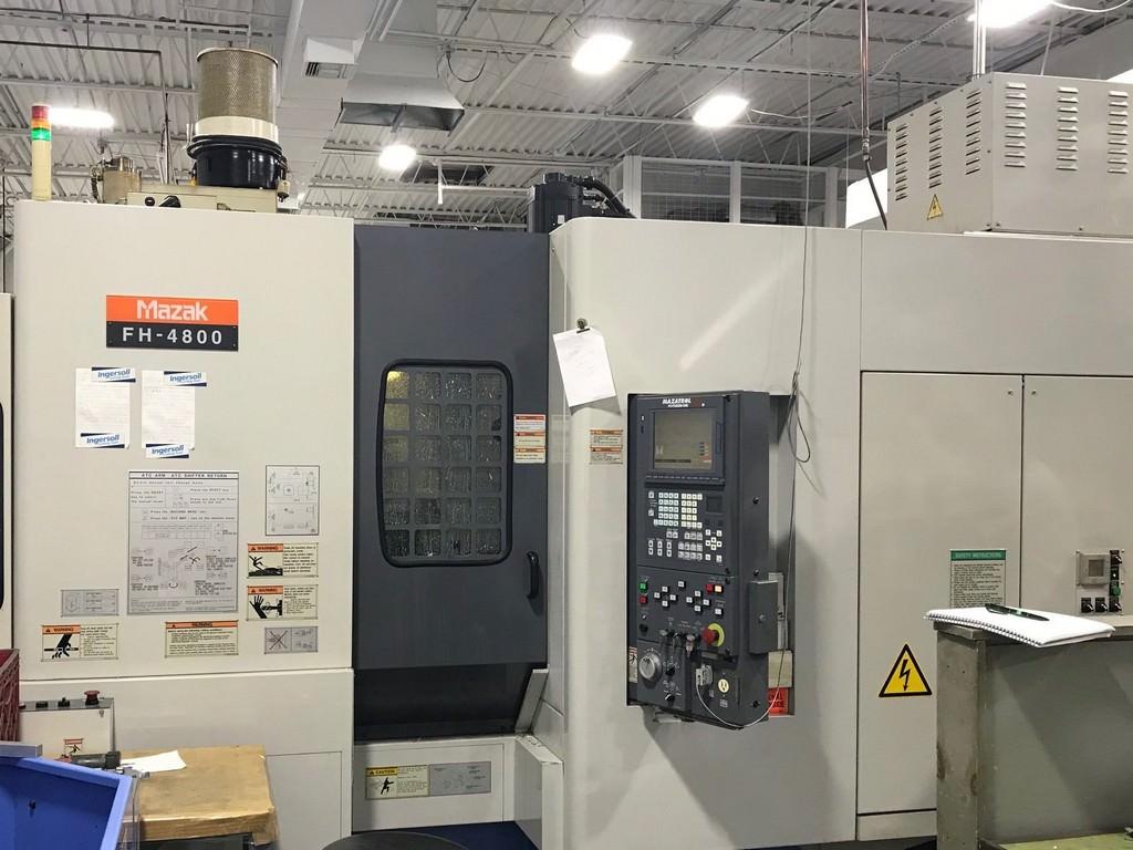 Mazak-FH-4800-CNC-Horizontal-Machining-Center