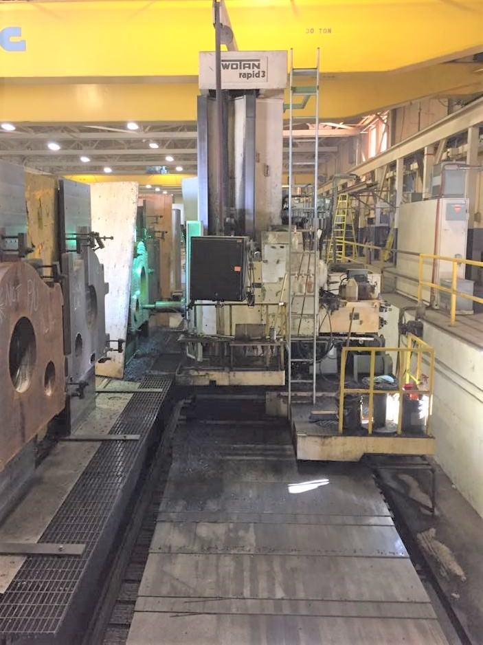 Wotan Rapid 3 CNC Floor Type Horizontal Boring Mill-28980a