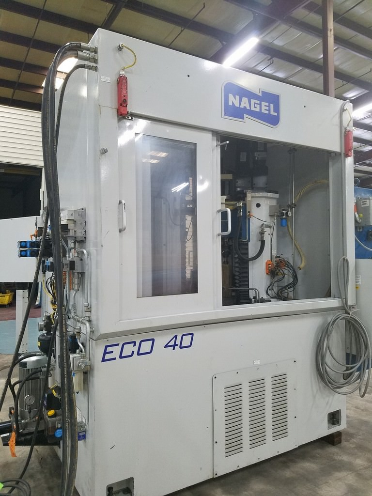Nagel ECO 40 Twin Spindle CNC Bore Hone
