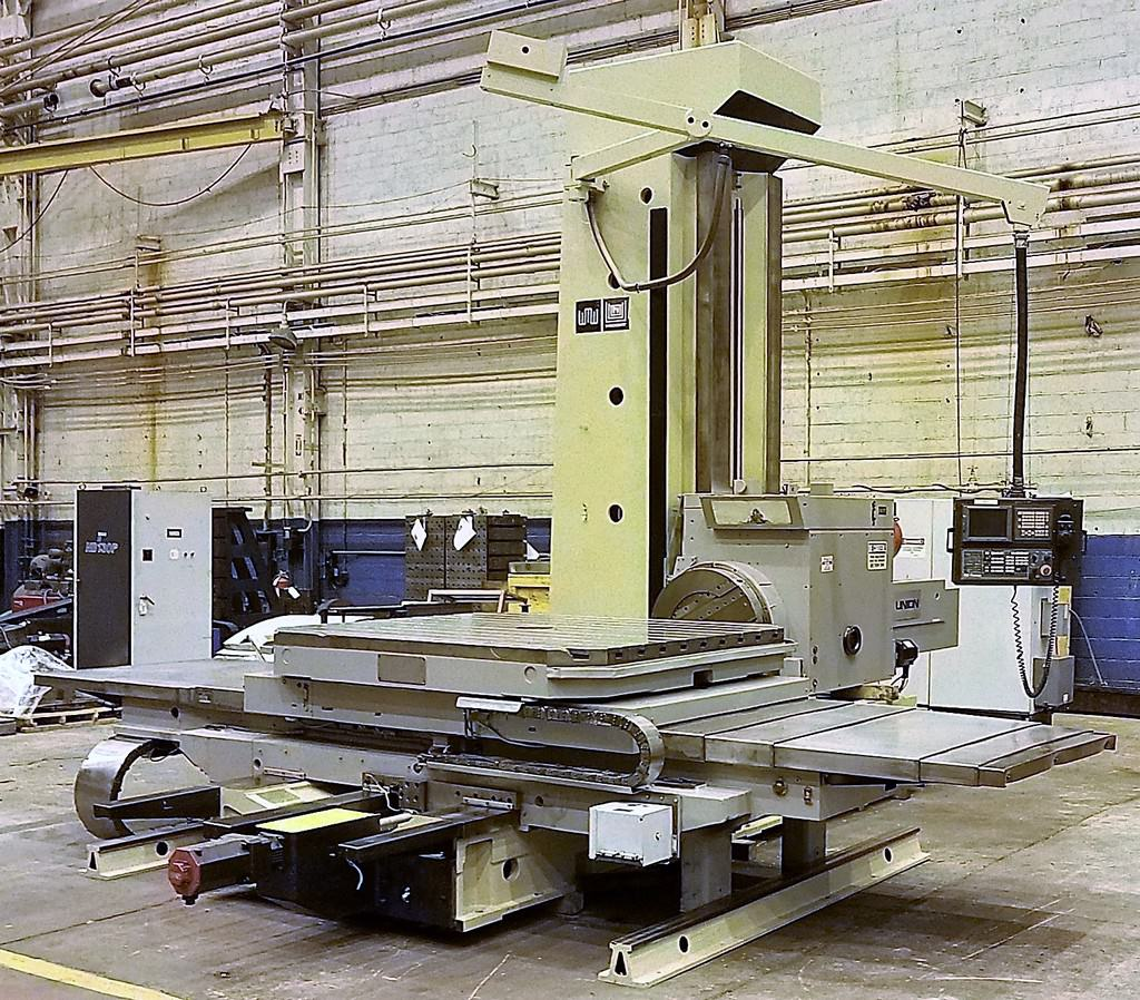 Union-BFT-130-7-5.12-CNC-Table-Type-Horizontal-Boring-Mill