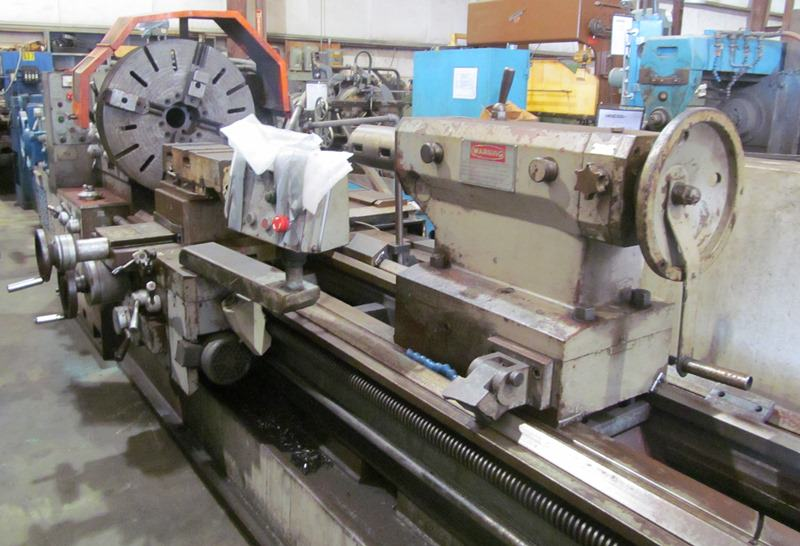 Poreba-36-x-96-TRP-93-x-2M-Gap-Bed-Manual-Lathe