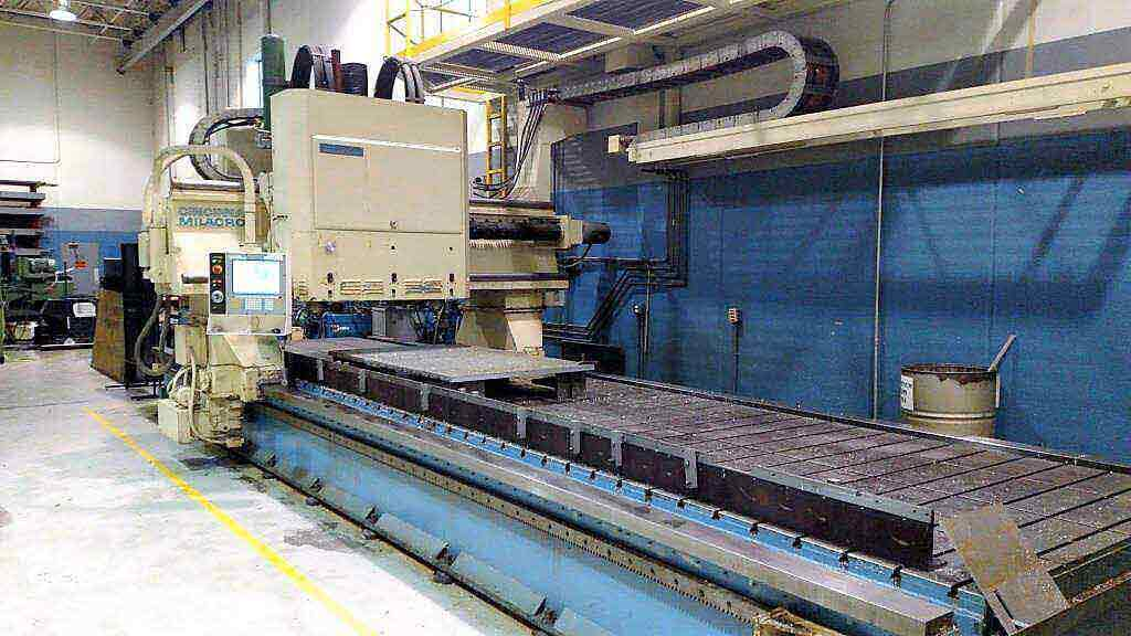 CINCINNATI 3-Spindle CNC Gantry Profiler