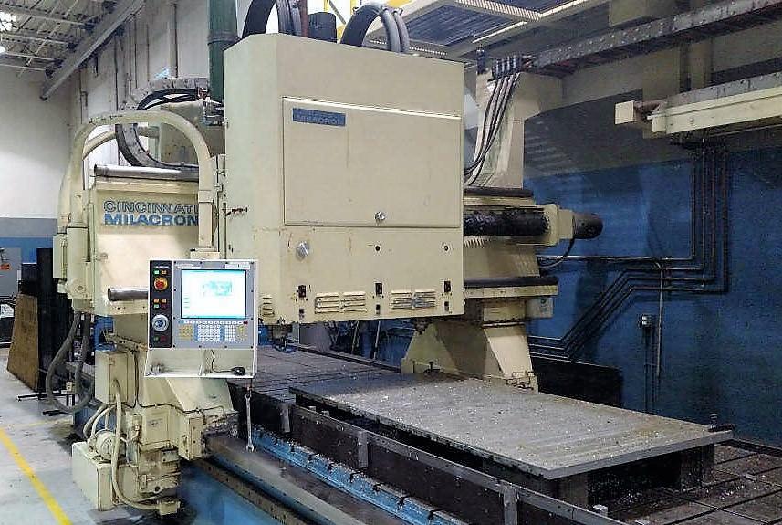 CINCINNATI 3-Spindle CNC Gantry Profiler-29307a