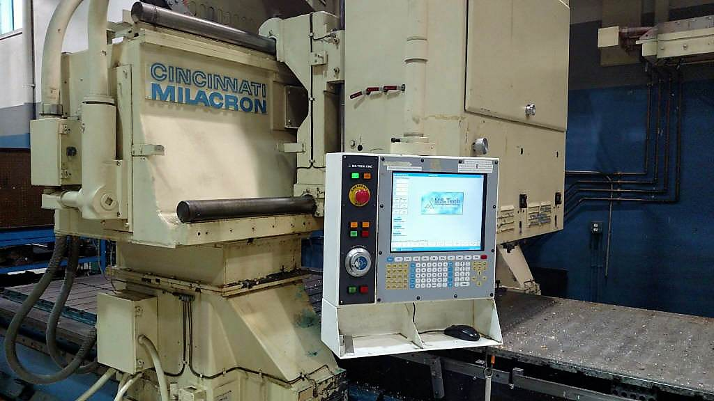 CINCINNATI 3-Spindle CNC Gantry Profiler-29307b